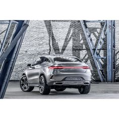 Finished in shimmering Alu Beam silver and powered by a 3.0-liter biturbo V-6 sending 333-hp and 354 lb-ft of torque through a 4MATIC all-wheel drive system, the Concept Coupe SUV has the versatile performance to match its looks.   #mercedes #benz #coupe #SUV #concept #conceptcar #instacar #germancars