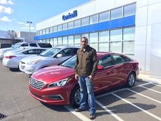 2yrs ago, Aaron was one of my first customers and a 1st buyer. I was able to help him purchase a car and establish his credit.  So when Aaron was ready to upgrade, he decided to stop in to see me.   Now Aaron is now the proud owner of a New 2015 Sonata SE!   Congratulations from myself and everyone here at the @conicelli Autoplex!   Thanks for choosing the Conicelli Autoplex,   Hasaan Ricks Sales Consultant Conicelli Autoplex 1200 Ridge Pike Conshohocken Pa. 19428 610-832-7911