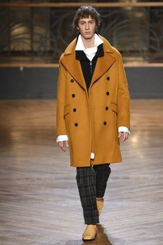 See the complete Wooyoungmi Fall 2017 Menswear collection.