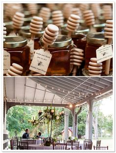 Sweet honey Perfect baby shower favors for Winnie the Pooh theme