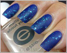 31DC2012 Day 5 Blue Nails - 8 Matte