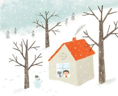 in the snow | Ekaterina Trukhan