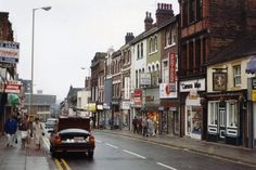 Piccadilly in Hanley before it's pedestrianisation.