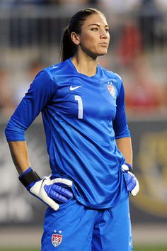 "Hope solo! This Is Not Soccer, And You Are Not A Goalkeeper ... As It Relates To Me, To Be Clear ... The Rest, Of Course: You Are Known As ""The Wall"" .."