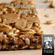 Para obtener más energía durante el día elige alimentos con fibra, toma más agua y reduce tu consumo de azúcar refinado. Prefiere #SusiPanaderíaArtesanal y vive tu estilo de vida saludable. www.susi.com.co  #FuerzaSusi #EstiloDeVidaSaludable #SnackSaludable #Susi #Granola #Cereal #Oats #Pan #Bread #Brot #Panadería #SnacksSaludables #ComidaSaludable #Cereales #FrutosSecos #Yummy #Delicious #Tasty #TradiciónAlemana #SinAditivos #Delicioso #Sano #Natural #HealthyFood #NutriciónCreativa