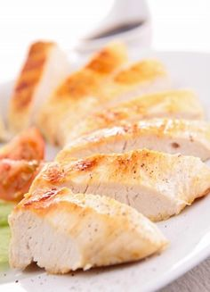A wonderful low-sodium, easy to make chicken breast recipe for your Foreman grill.