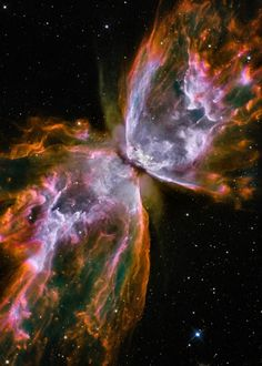 NGC 6302 (also called the Bug Nebula, Butterfly Nebula, or Caldwell 69) is a bipolar planetary nebula in the constellation Scorpius.