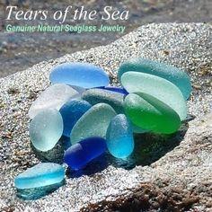 Sea glass, beautiful