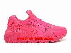 Chaussure Nike Sportswear Pas Cher Pour Femme Officiel Nike Wmns Air Huarache GS Rose 634835-009
