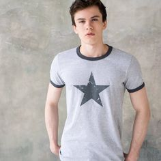 Star Ringer T Shirt