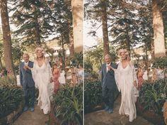 vintage boho chic wedding
