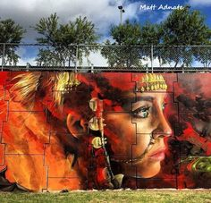 STREET ART - WOMAN