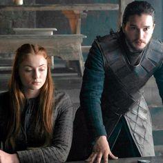 """Jon Snow & Sansa Stark   6.05, """"The Door"""""""