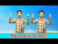 My God Is So Big with actions || Sunday School Song || Action Songs