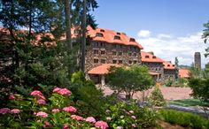 The Omni Grove Park Inn, Asheville, NC.