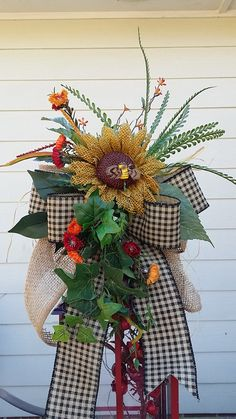 Large Lantern SwagSpring Lantern Swag by TheChicyShackWreaths