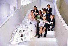 Angelina Jolie & Brad Pitt: Married Before the French Wedding #CelebrityWedding