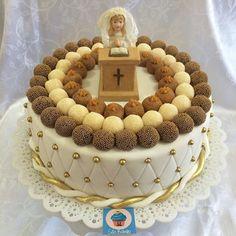 Resultado de imagem para bolos decorados 1 comunhao