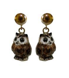 Mini Owl Earrings by Nach