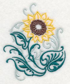 Sunflower Filigree