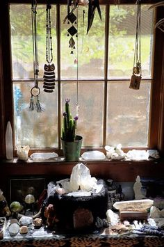 crystal window decoration.....love it so much ♥ / Sacred Spaces ♥