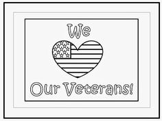 Coloring Pages for Veterans Day | Veterans | Pinterest | Social ...