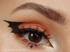 Looking for for ideas for your Halloween make-up? Browse around this site for cute Halloween makeup looks. Bat Makeup, Edgy Makeup, Eye Makeup Art, Demon Makeup, Skeleton Makeup, Witch Makeup, Doll Makeup, Makeup Stuff, Makeup Goals