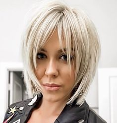 The Best 60 Most Popular Pixie And Bob Short Hairstyles 2019 - Frisyrer Edgy Haircuts, Short Bob Hairstyles, Blonde Hairstyles, Hairstyles Haircuts, Pixie Haircuts, Short Layered Haircuts, Bob Hairstyles For Fine Hair With Fringe, Med Shag Hairstyles, Short Bob With Layers