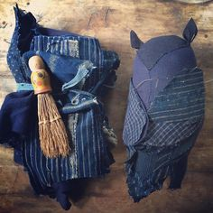 lovely old indigo cloth from @srithreads