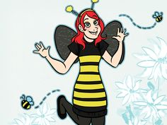 Children and adults can have fun with a bumblebee costume. Wings, antennae and a black and yellow striped trunk make a homemade bee costume noticeable and fairly simple to construct. Use wire hangers and some craft supplies to make this...