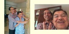 #JokowiJKSelfie #Salam2Jari Mantaappp...