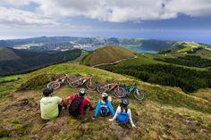 Biking in Azores