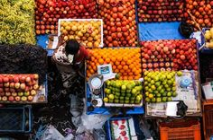 Fruit Seller,Tamilnadu Photo by don panakkal -- National Geographic Your Shot