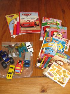 Tips and Activities for a Road Trip with Kids - Part 1 (great ideas for DIY car kits)
