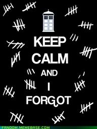 The Silence are terrifying! April 23, 2013  (THAT'S TODAY!)  Why do I have all of these tally marks on my arm?