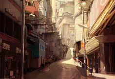 Streets by Ananda C. Arán | Sci-Fi | 2D | CGSociety