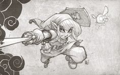 Love this take on Link, by my man Joe Mad. I miss working with this dude, a talented a funny guy.