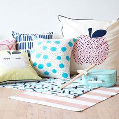 Pillow cases with fun and decorative patterns. Two sizes, nine designs. Prices from DKK 22,80 / SEK 29,90 / NOK 29,80 / EUR 3,19 / ISK 654 #grenechildren #sostrenegrene #søstrenegrene – sostrenegrene.com