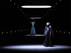 set and light design by Klaus Grünberg for Macbeth (Giuseppe Verdi), Opernhaus…