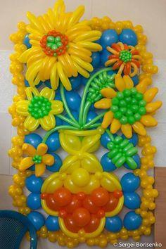Flower Balloon Wall