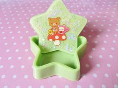 Rilakkuma star resin trinket box by ErikaDolciTentazioni on Etsy