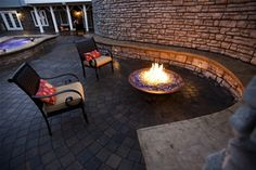 Grand Effects fire pit