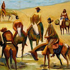 Cavalgada (Caribé) Elfi Kürten Fenske: Carybé (Hector Julio Páride Bernabó) - A arte e a paixão pela Bahia