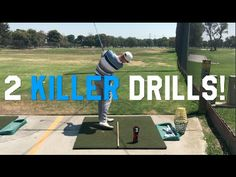 Two Killer Golf Drills that WORK to make you BETTER! - YouTube