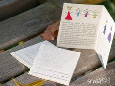 Hochzeit Pixibuch mit einem Märchen smallART