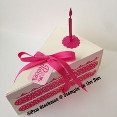 Stampin' in the Sun: Happy Birthday with the Cutie Pie Thinlit and Sweet Stack Stamp Set