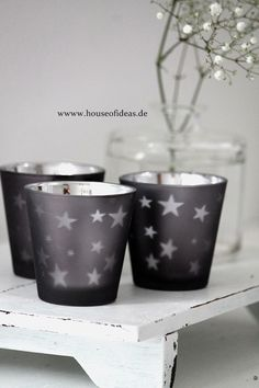 ✯ Wish Upon the Stars ✯ star planters