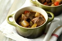 Irish Beef Stew (Slow Cooker) Recipe Yield: Prep Time: 35 min Cook Time: 9 hours Total Time: 9 hours 35 minutes A slow cooker beef stew that's easy to prepare. Full of flavor from the beef broth, red wine and Irish beer; the ultimate comfort food. Crock Pot Slow Cooker, Slow Cooker Recipes, Beef Recipes, Soup Recipes, Dinner Recipes, Crockpot Meals, Irish Beef, Irish Recipes, Soup And Salad