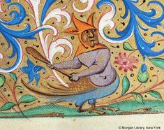 Book of Hours, MS H.5 fol. 75r - Images from Medieval and Renaissance Manuscripts - The Morgan Library & Museum