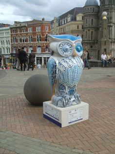 New Street Flyer Owl raised 9.000 pounds at the auction